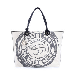 -Scervino Street Shopping Bag con Stampa