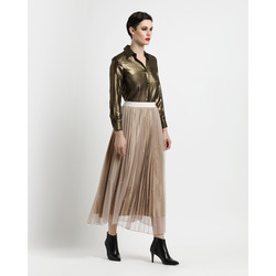 Via Veneto Gold Collection - Gonna in Tulle Plissettata