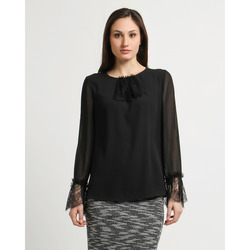 The Jetsetters - Blusa con Inserti in Pizzo