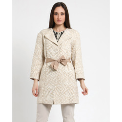 - Twin Set Cappotto Cintura in Vita