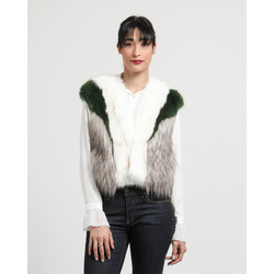 - Guess Gilet in Similpelliccia Multicolore