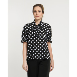 The Jetsetters-Blusa a Pois con Fiocco