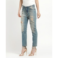 - Twin Set Jeans con Strappi