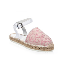 - Twin Set Espadrillas con Pizzo