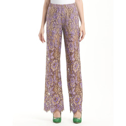 - Twin Set Pantaloni in Pizzo
