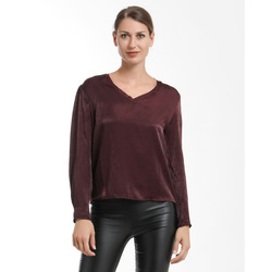 James Lakeland - Blusa Effetto Raso Scollo a V