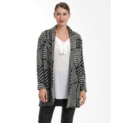 James Lakeland - Cardigan Fantasia Black & White