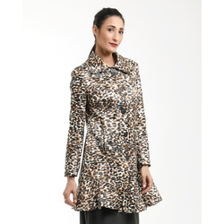 Via Veneto - Cappotto con Fantasia Animalier