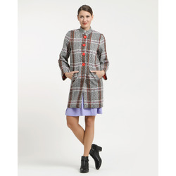 Martylia - Cappotto In Tartan Multicolor