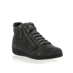 - Geox Sneakers Alte in Pelle Zip Laterale