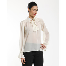 James Lakeland - Blusa in Georgette con Fiocco e Lurex