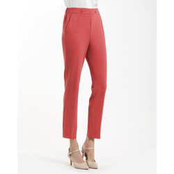 Smart & Chic - Pantalone Crepe Stretch Vita Elastica