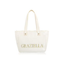 Graziella - Borsa Shopper Media Linea Margherita