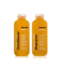 Solfine - Duo Frizzy Hair Shampoo 350ml + Hair Conditoner 350ml