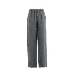 James Lakeland - Pantaloni in Lino Gamba Larga