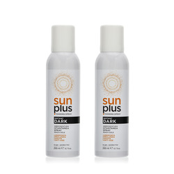 Sun Plus - Spray Abbronzatura Istantanea 200 ml x 2 px