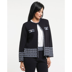 The Jetsetters-The Jetsetters Giacca In Maglia Decoro Jacquard