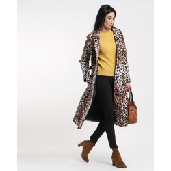 James Lakeland - James Lakeland Cappotto Lungo Animalier