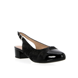Caprice - Caprice Décolleté Sling Back In Pelle Mix Stretch