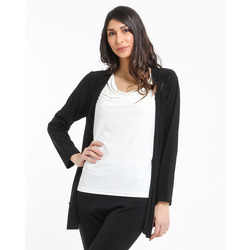 The Jetsetters - The Jetsetters Cardigan In Jersey Effetto 2 In 1