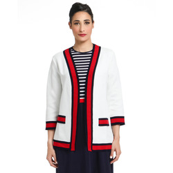 The Jetsetters-The Jetsetters Cardigan Con Colori A Contrasto