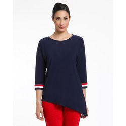 The Jetsetters-The JetSetters Maglia In Jersey Asimmetrica