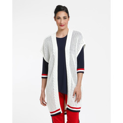 The Jetsetters-The Jetsetters Gilet Lungo Traforato