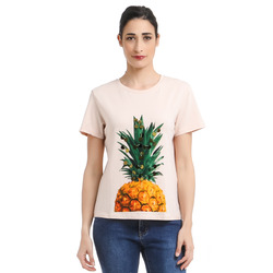 Tantra-Tantra T-Shirt Con Stampa Ananas