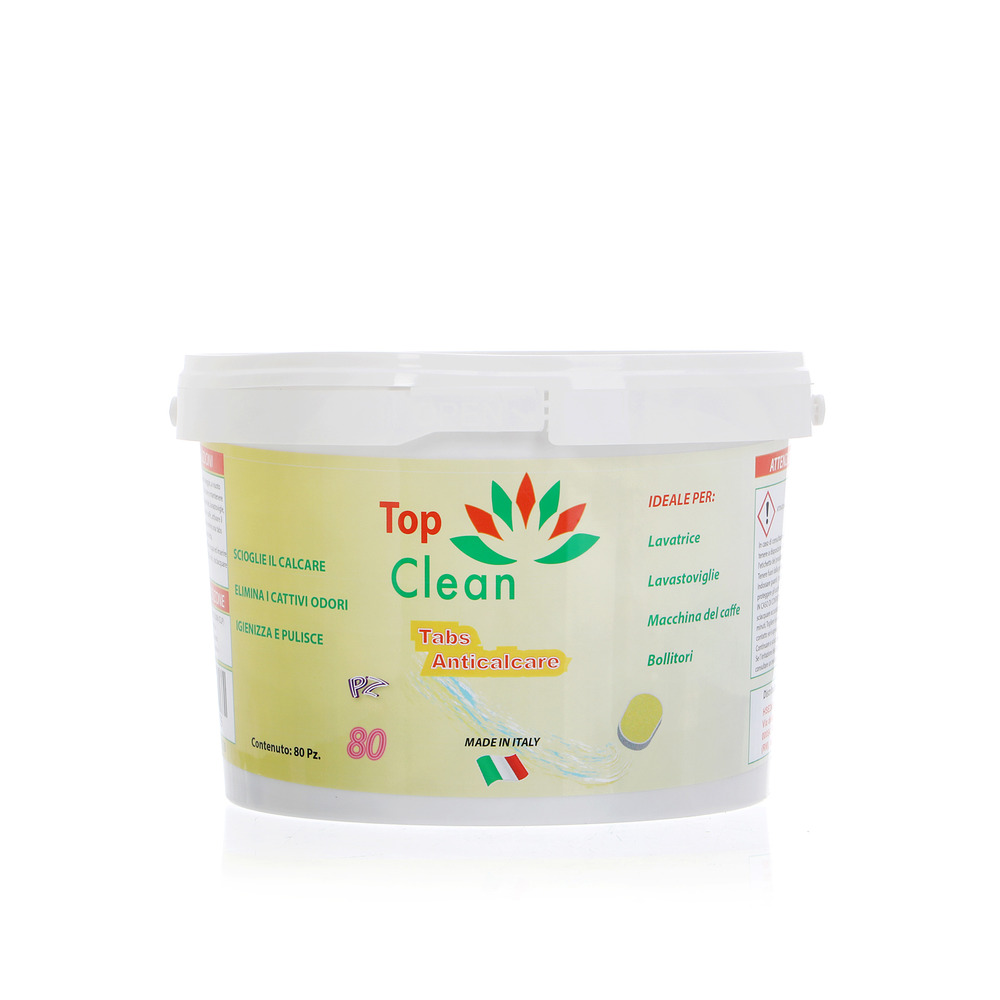 TOP CLEAN TABS ANTICALCARE