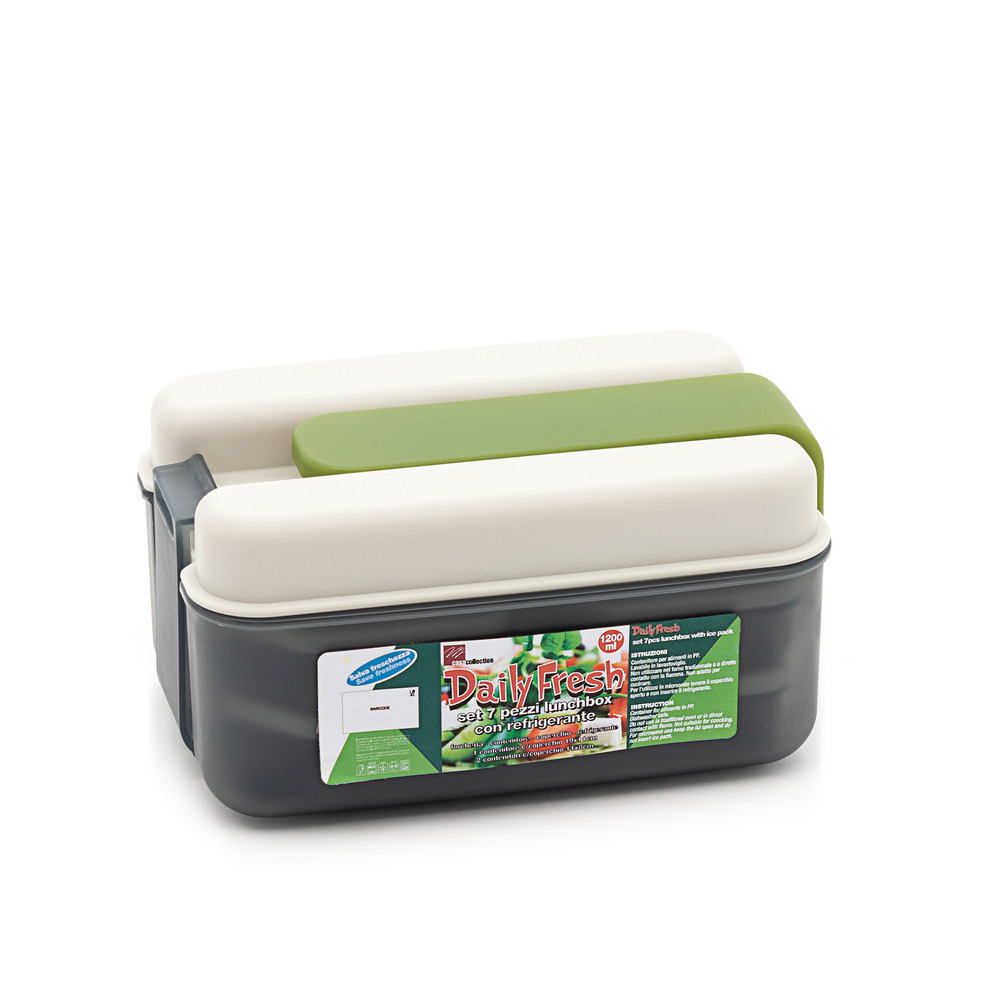 Daily Fresh Set 7pz lunchbox